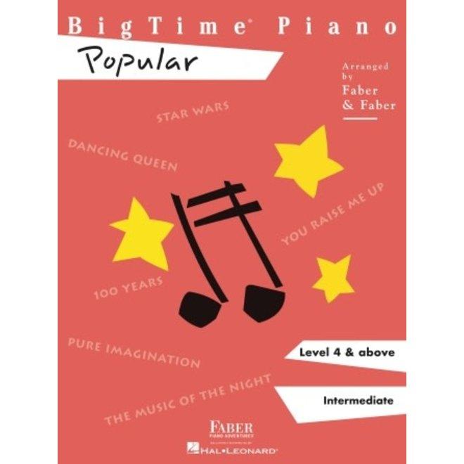 Hal Leonard - Faber BigTime Piano, Level 4, Popular