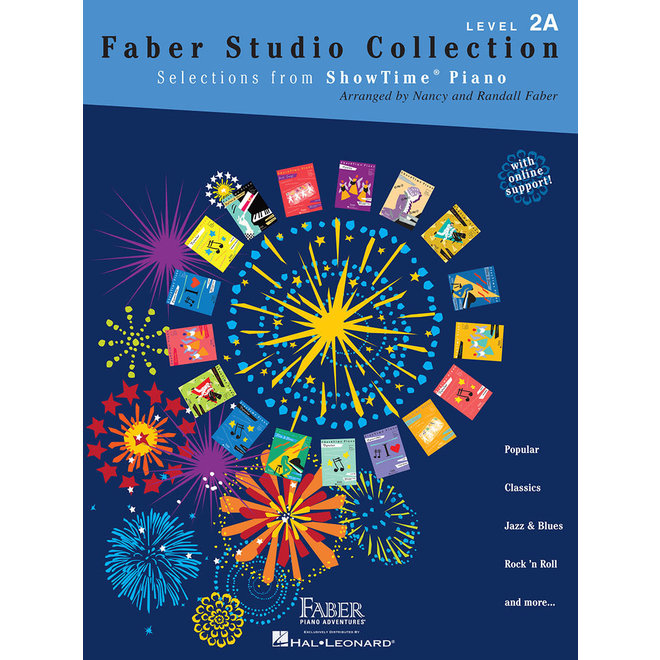 Hal Leonard - Faber ShowTime Piano, Level 2A, Faber Studio Collection