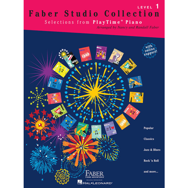 Hal Leonard - Faber PlayTime Piano, Level 1, Faber Studio Collection