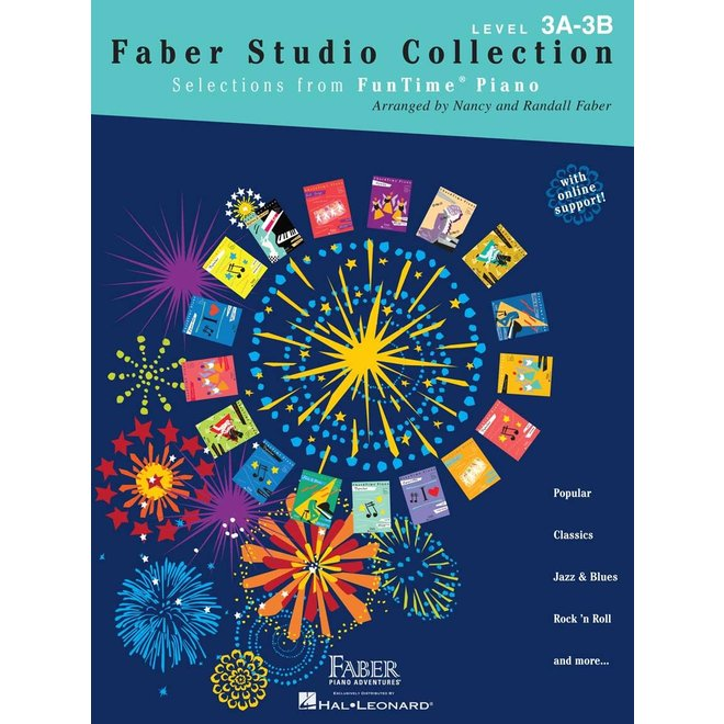 Hal Leonard - Faber FunTime Piano, Level 3A-3B, Faber Studio Collection
