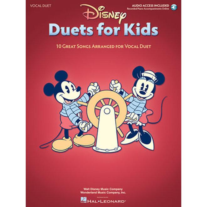 Hal Leonard - Disney Duets for Kids, Vocal Duet