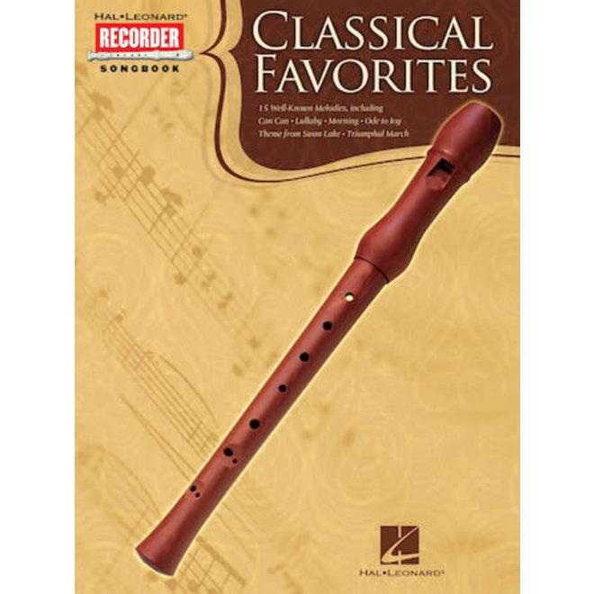 Hal Leonard - Classical Favorites, Recorder Songbook