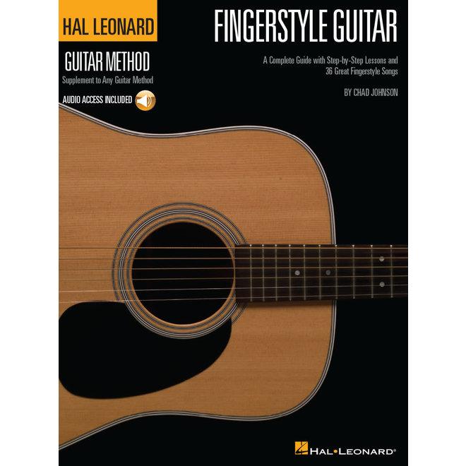 Hal Leonard - Fingerstyle Guitar Method w/online audio