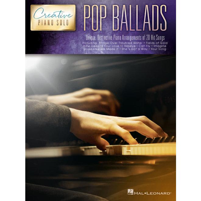 Hal Leonard - Creative Piano Solos, Pop Ballads