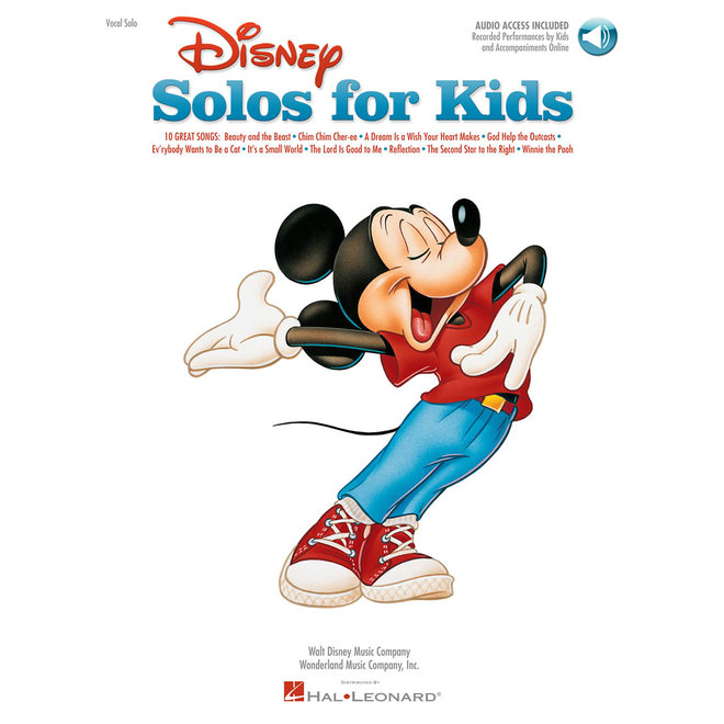 Hal Leonard - Disney Solos for Kids, Voice
