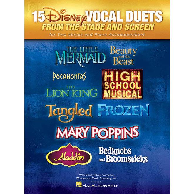 Hal Leonard - 15 Disney Vocal Duets