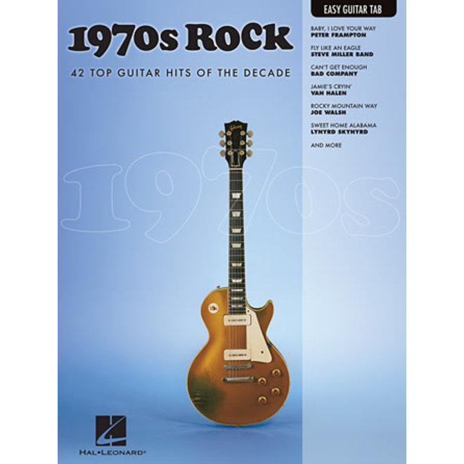 Hal Leonard - 1970's Rock, Easy Guitar Tab