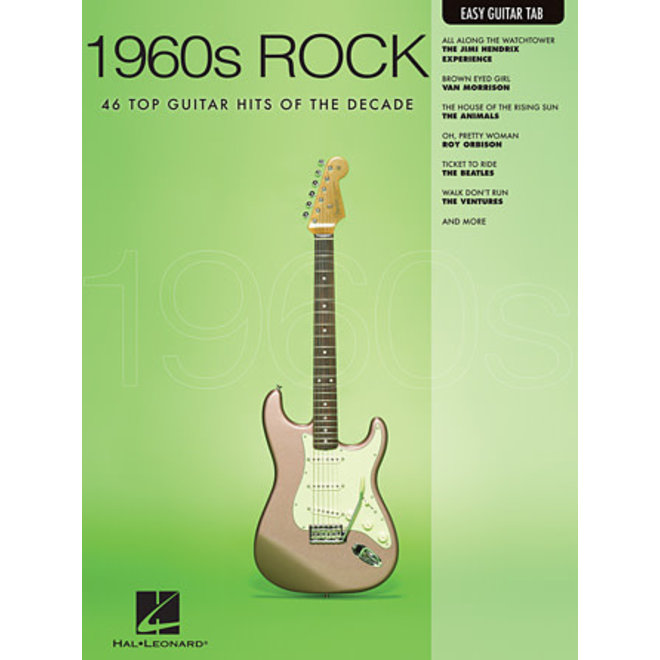 Hal Leonard - 1960's Rock, Easy Guitar Tab