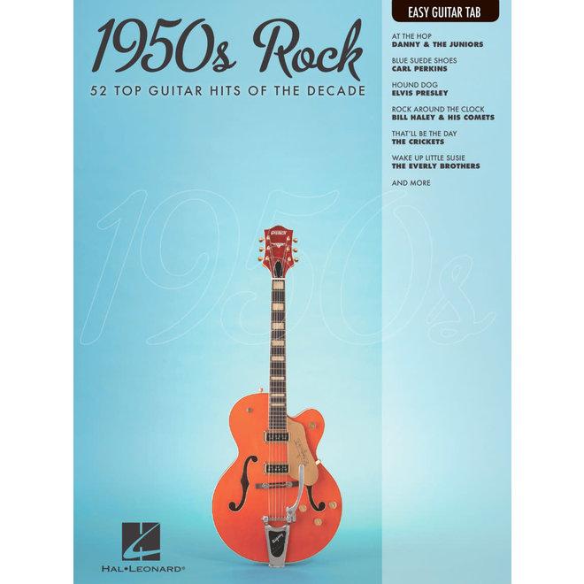 Hal Leonard - 1950's Rock, Easy Guitar Tab