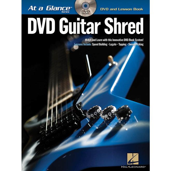 Hal Leonard - At a Glance Guitar Series, Book/DVD Pack, Guitar Shred