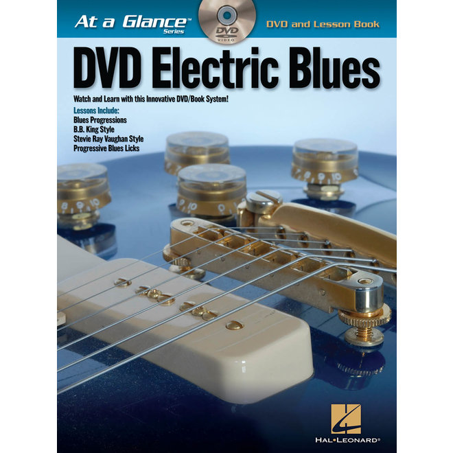 Hal Leonard - At a Glance Guitar Series, Book/DVD Pack, Electric Blues