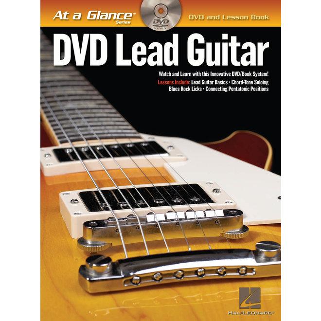 Hal Leonard - At a Glance Guitar Series, Book/DVD Pack, Lead Guitar
