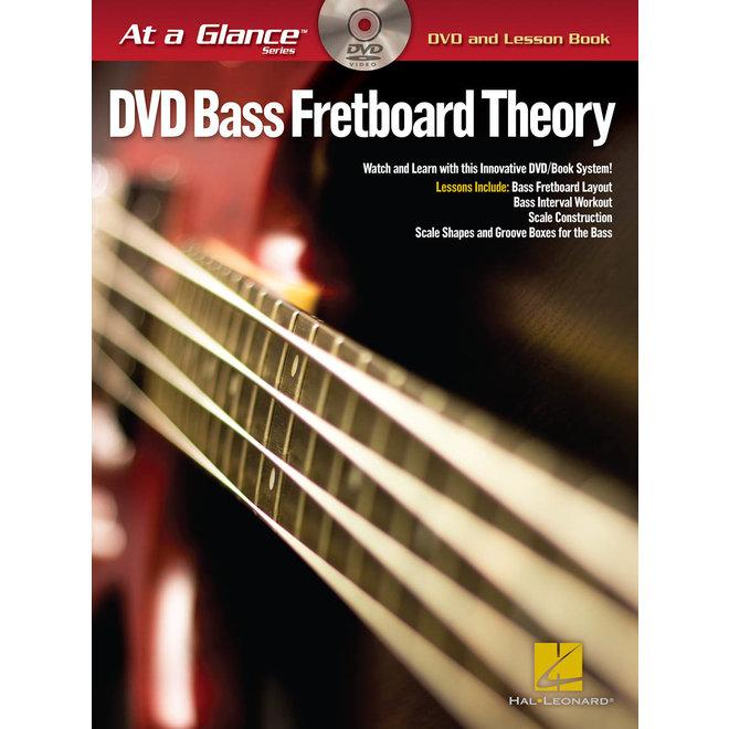 Hal Leonard - At a Glance Bass Series, Book/DVD Pack, Bass Fretboard Theory