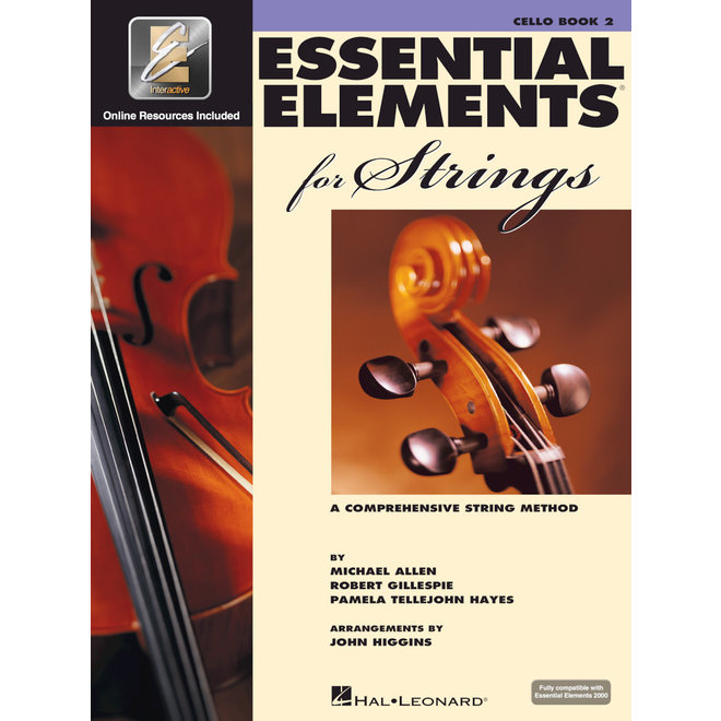 Hal Leonard - Essential Elements 2000 for Strings, Level 2 Cello w/CD