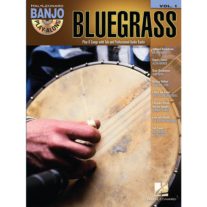 Hal Leonard - Bluegrass Banjo Play-Along, w/CD
