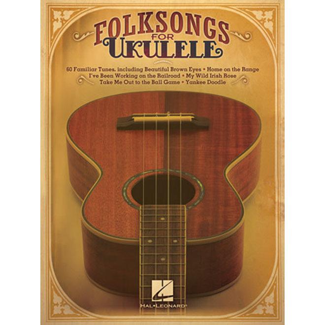 Hal Leonard - Folk Songs, Ukulele