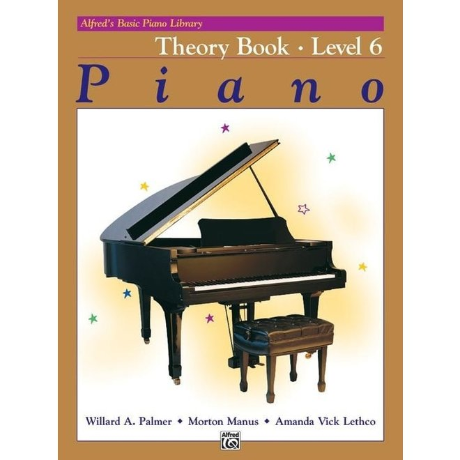 Alfred's - Basic Piano Course: Theory Book 6