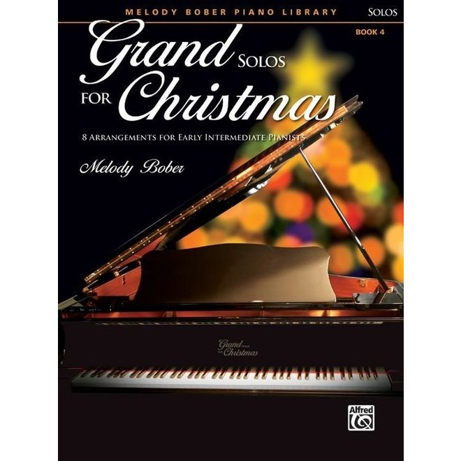 Alfred's - Grand Solos for Christmas, Book 4