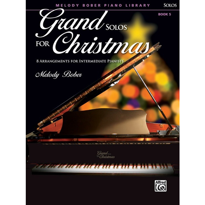 Alfred's - Grand Solos for Christmas, Book 5