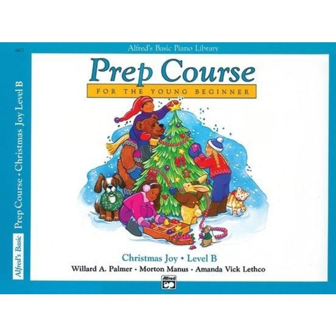 Alfred's - Basic Piano Prep Course: Christmas Joy, B