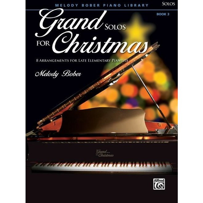Alfred's - Grand Solos for Christmas, Book 3