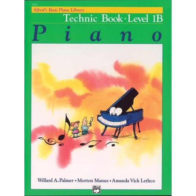 Alfred's - Basic Piano Course: Technic Book 1B