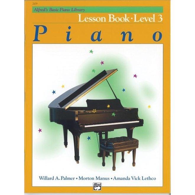 Alfred's - Basic Piano Course: Lesson Book 3