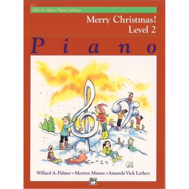 Alfred's - Basic Piano Course: Merry Christmas, Book 2