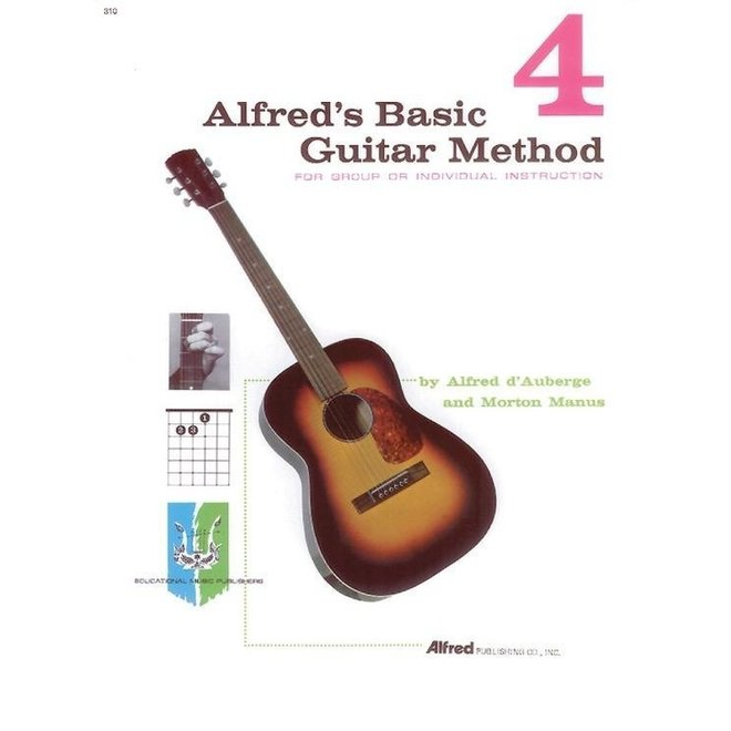 Alfred's - Basic Guitar Method, Book 4