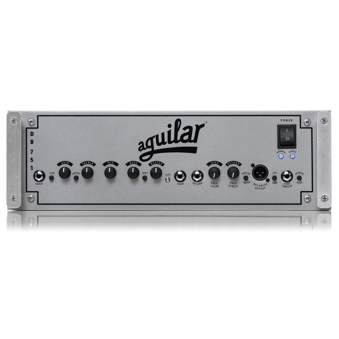 Aguilar - Hybrid Head, 975 watts, 3 preamp tubes, mosfet power