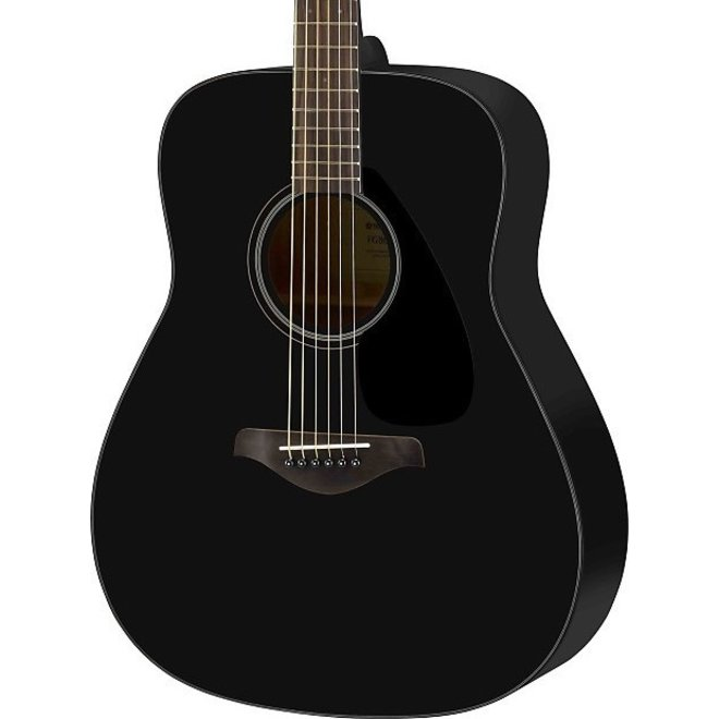 Yamaha - FG800 Acoustic, Black
