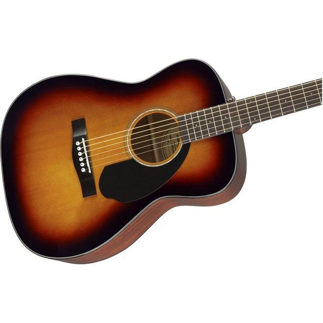 Fender - CC-60S Concert Acoustic w/solid top, Sunburst