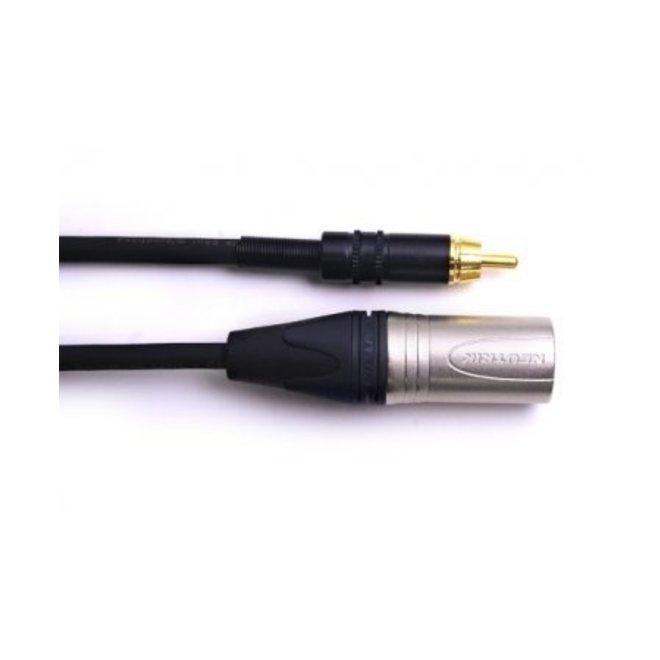 Digiflex - RCA to XLRM Cable, 10'