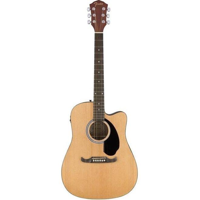Fender - FA-125CE Dreadnought Cutaway Acoustic, Natural