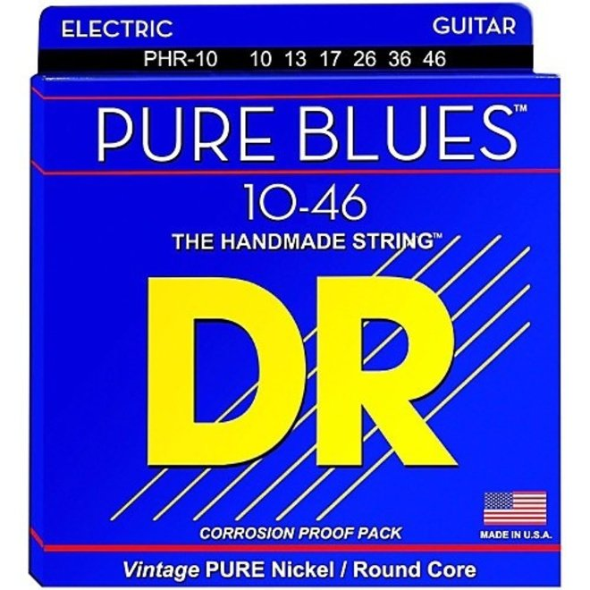 DR - Pure Blues Electric, 10-46 Light