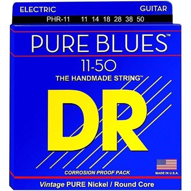 DR - Pure Blues Electric, 11-50 Medium