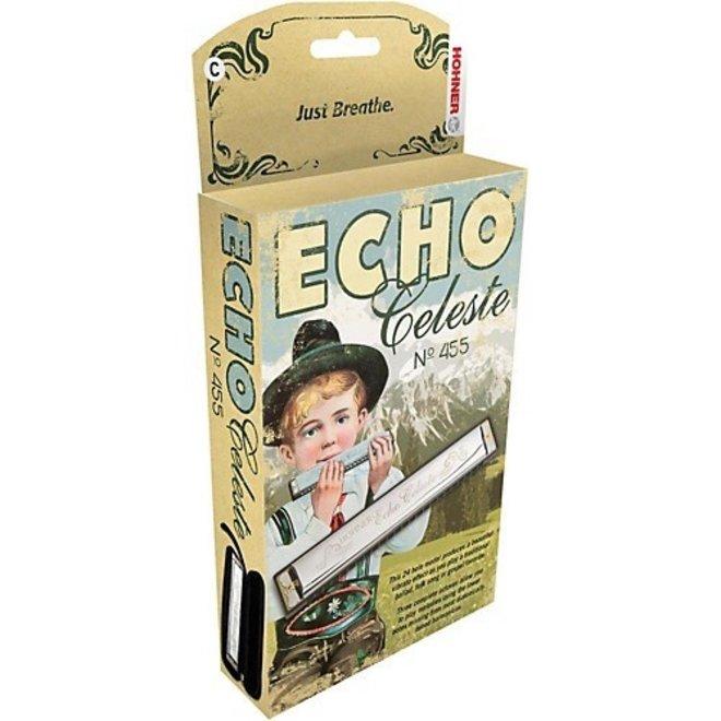 Hohner - Echo Celeste Vibrato Harmonica, Eb