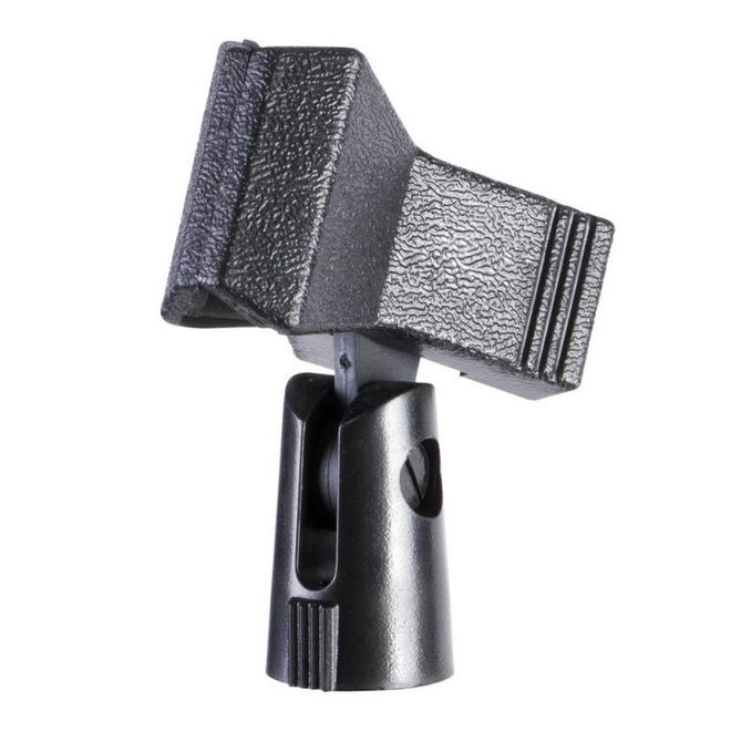 On-Stage - Clothes-pin style plastic microphone clip