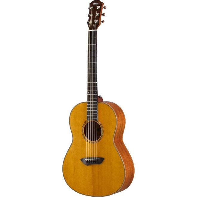 Yamaha - CSF3M All Solid Wood Parlour Acoustic-Electric, Vintage Natural w/Gigbag