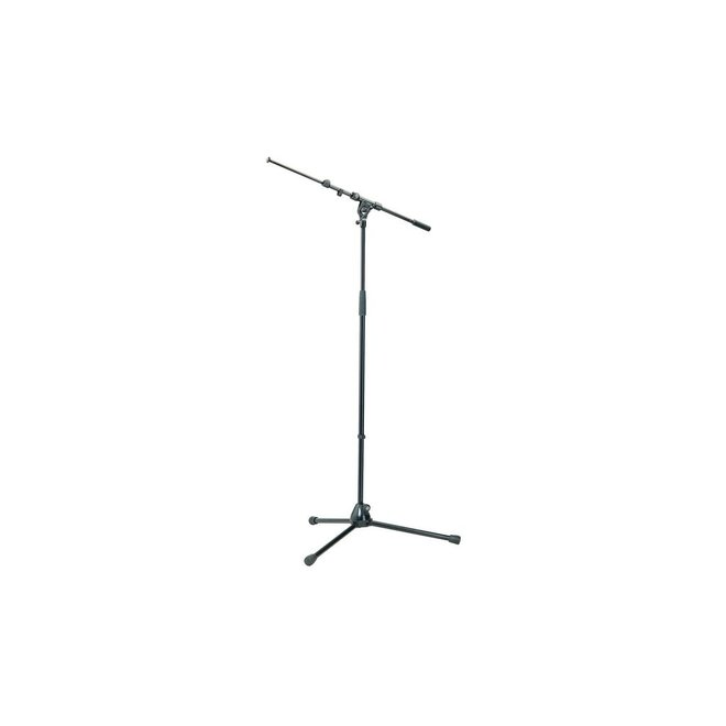 K&M - Microphone Stand w/Telescoping Boom