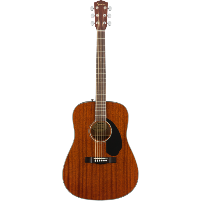 Fender - CD60S Dreadnought Acoustic w/solid top, All Mahogany