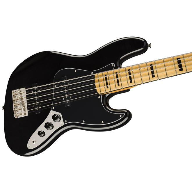 Squier - Classic Vibe '70s 5 String Jazz Bass, Maple Fingerboard, Black