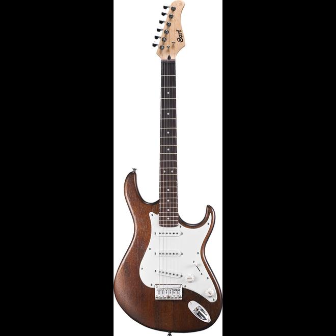 Cort - G Series Electric Guitar, Openpore Walnut