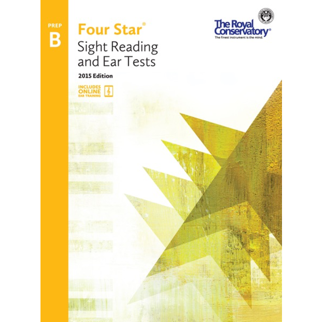 RCM - Four Star, Sight Reading and Ear Tests, Preparatory B