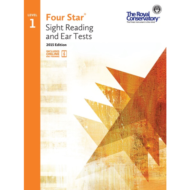 RCM - Four Star, Sight Reading and Ear Tests, Level 1