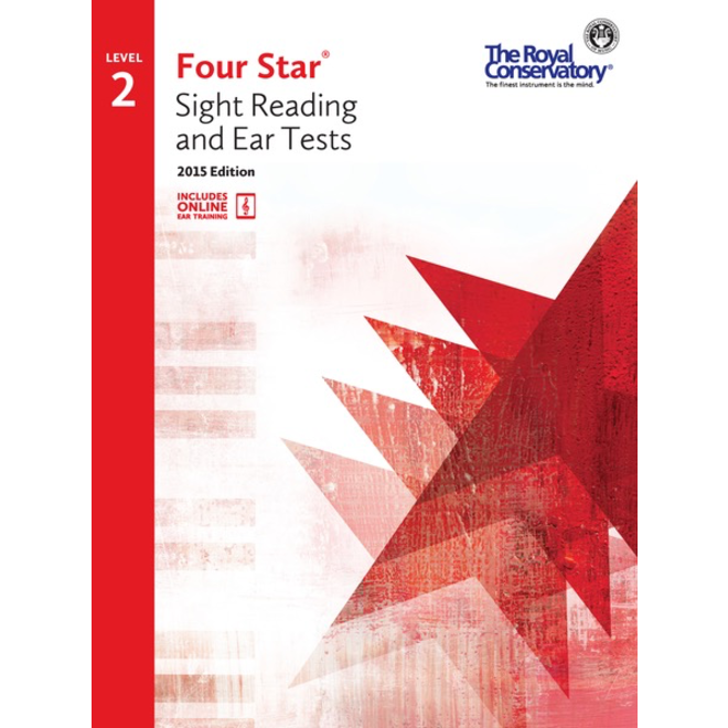 RCM - Four Star, Sight Reading and Ear Tests, Level 2