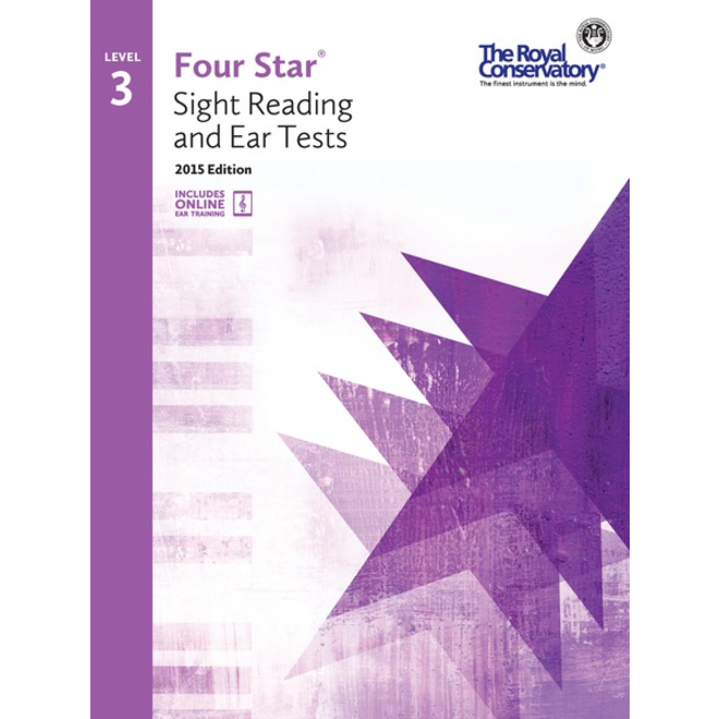 RCM - Four Star, Sight Reading and Ear Tests, Level 3