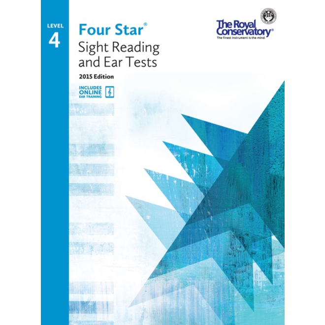 RCM - Four Star, Sight Reading and Ear Tests, Level 4