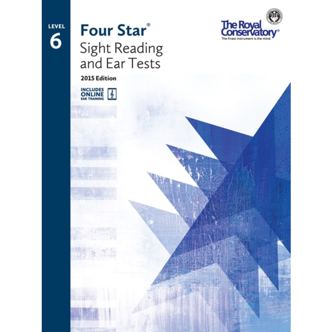 RCM - Four Star, Sight Reading and Ear Tests, Level 6