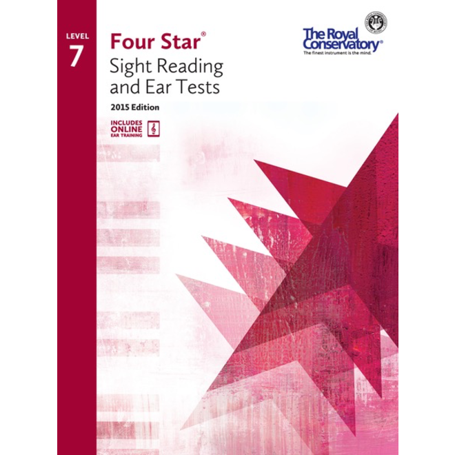 RCM - Four Star, Sight Reading and Ear Tests, Level 7